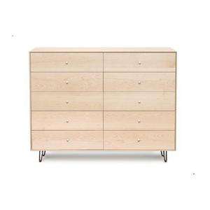 Gallery - CANVAS 10 DRAWER WITH SOFT CLOSE SELF CLOSE DRAWERS DRESSER