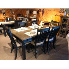 FMD736 Table & 6 Chairs Set