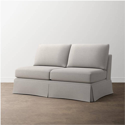 Premier Collection - Custom Upholstery Deep Armless Sofa