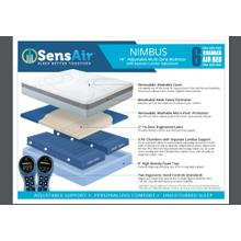 Nimbus 6 chamber air queen mattress