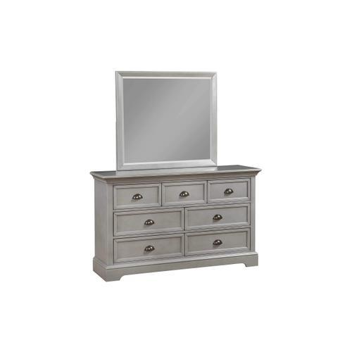 7-Drawer Youth Dresser, Grey