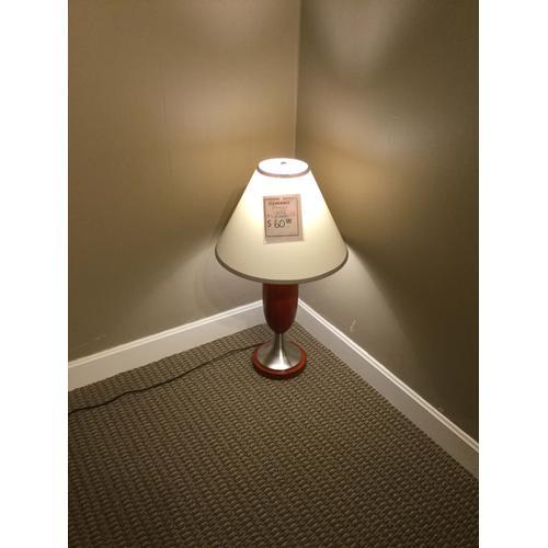 """Ashley """"Deven"""" Cherry L410284 Table Lamp 30""""H"""