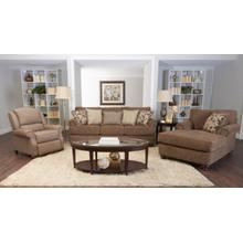 OK73500  Sofa and Loveseat (K73500FCHS Chaise) - Chris Leather Ibiz Granite