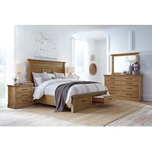 Aspen - Manchester Queen Bedroom - Bed, Dresser, Mirror