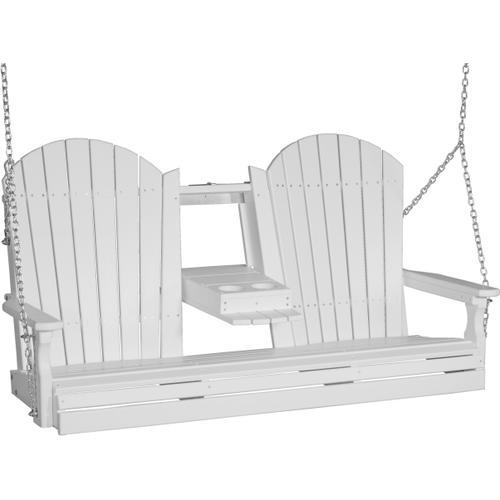 Adirondack Swing 5' White