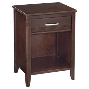 CAF 1Drawer Pacific Nightstand Caffe Finish