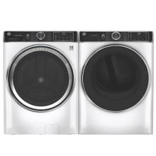 See Details - GE Smart Front Load 5.0 cu. ft. ENERGY STAR Steam Washer & 7.8 cu. ft. Electric Dryer with Steam- Open Box