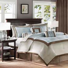 See Details - Genevieve 7 piece Comforter Set - King