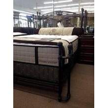 View Product - Wesley Allen Queen Size Fillmore Bed in Aged Iron floor sample as is
