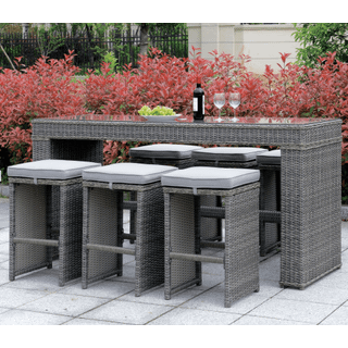 Ismay 7-piece Outdoor Dining Set