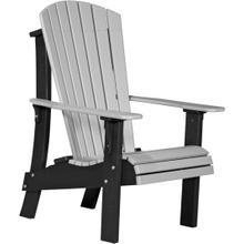 Royal Adirondack Chair Dove Gray and Black