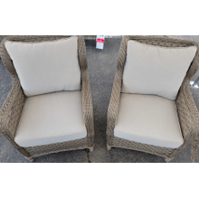 View Product - Lounge Chair w/Cushion (2/CN) Light Brown