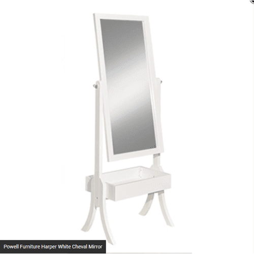 Harper White Chaval Mirror
