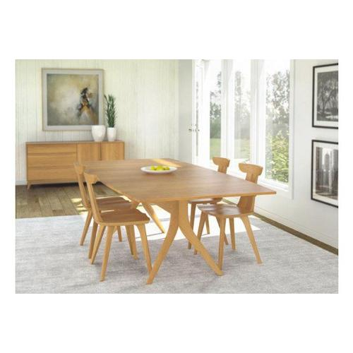 CATALINA TRESTLE EXTENSION TABLES WITH EASYSTOW EXTENSION AND LEAF STORAGE IN CHERRY