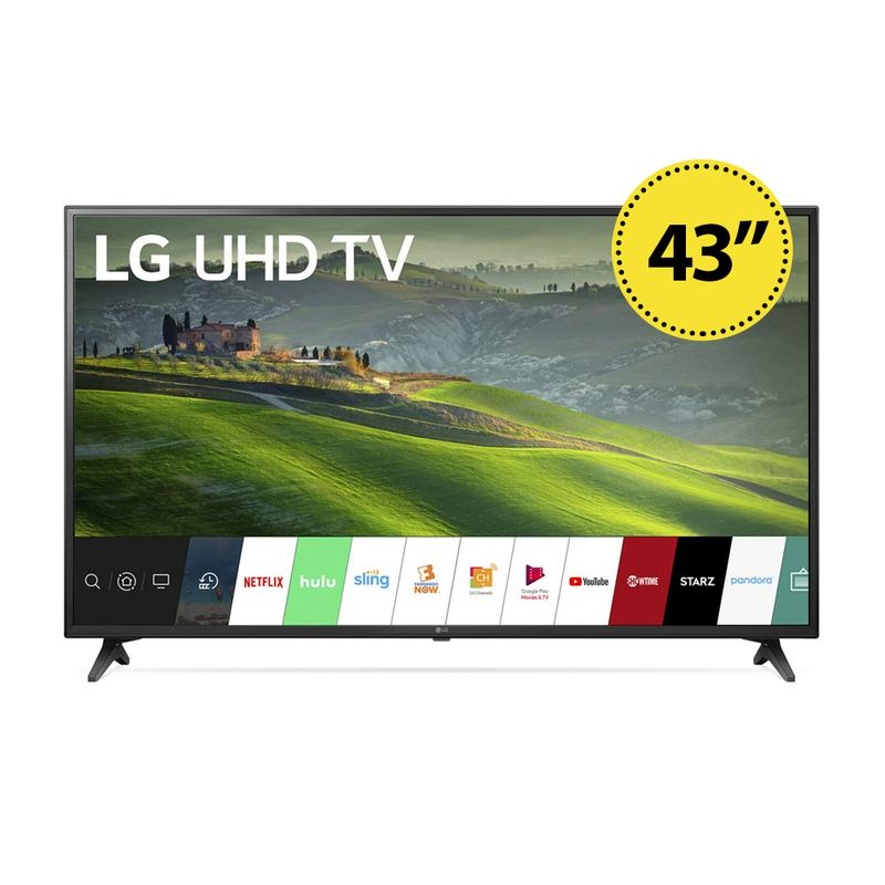 View Product - LG 43 Inch 4K Smart LED TV