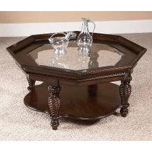 See Details - Octagon Cocktail Table