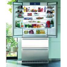 "36"" Freestanding Counter-Depth Refrigerator & Bottom Freezer Stainless Steel"