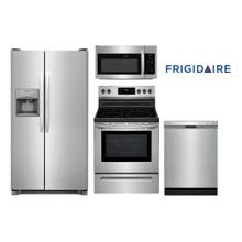 Frigidaire Stainless Kitchen Package with Side by Side