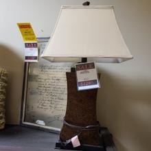 See Details - Bronze Table Lamp