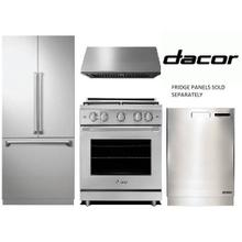 "DACOR 30"" GAS RANGE PACKAGE"