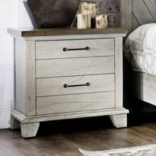 View Product - Bear Creek Farmhouse 2 Drawer Night Stand