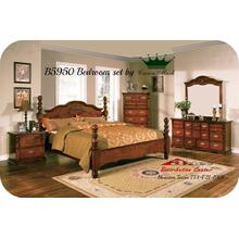 Crown Mark Furniture B5950 Coventry Dk Pine Bedroom set Houston Texas USA Aztec Furniture