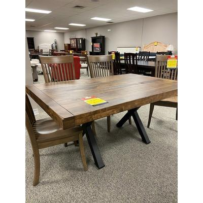 42x66 Solid Plank Top Table