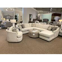 F9 Customizable Sectional with Chaise and Matching Chair