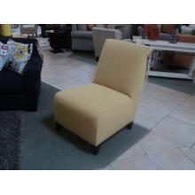 Yellow Accent Chair by Jonathan Louis