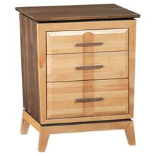 Addison 3-Drawer Nightstand