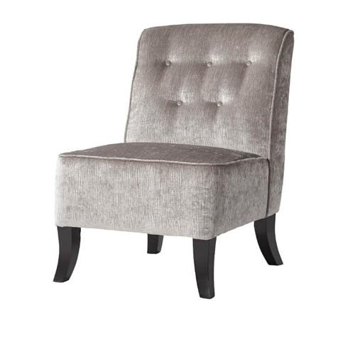 HUGHES FURNITURE 4825-1525C Bliss Dove Armless Chair