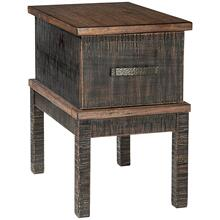 Eos Black and brown End Table - Stamah