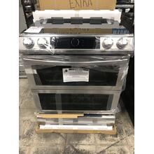 6.3 cu. ft. Flex Duo™ Front Control Slide-in Electric Range with Smart Dial, Air Fry & Wi-Fi in Stainless Steel **OPEN BOX ITEM** West Des Moines Location