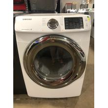Used White Front Load 7.5 cu. ft. Gas Dryer