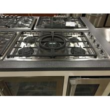 "36"" Gas Cooktop with 5 Sealed Burners, Indicator Lights and Reversible Central Wok Grate"
