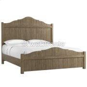 Madison - Queen Panel Bed - Caramel Finish