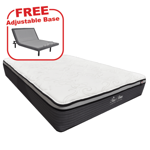 Buy the King's Choice Limited Edition Queen Mattress, get a FREE Adjustable Base