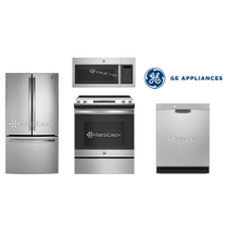 GE Kitchen Package with slide in range