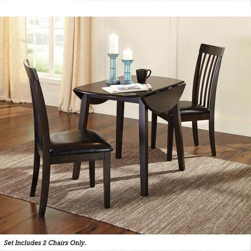 Gallery - Round Drop Leaf Table & 2 Chairs