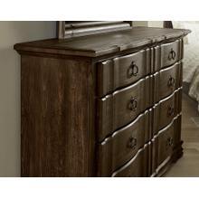 Rustic Hills 8 Drawer Dresser