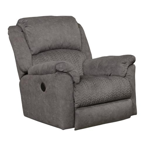 Gallery - 647852 Malloy Graphite Power Recliner