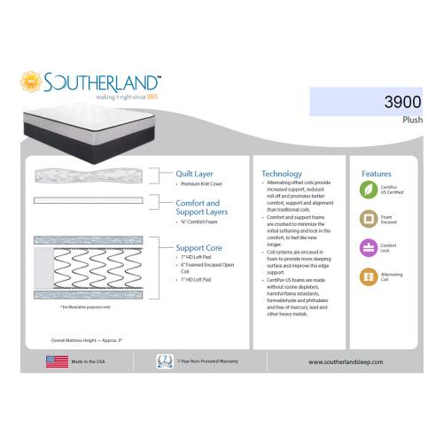 Southerland - 3900 - Plush