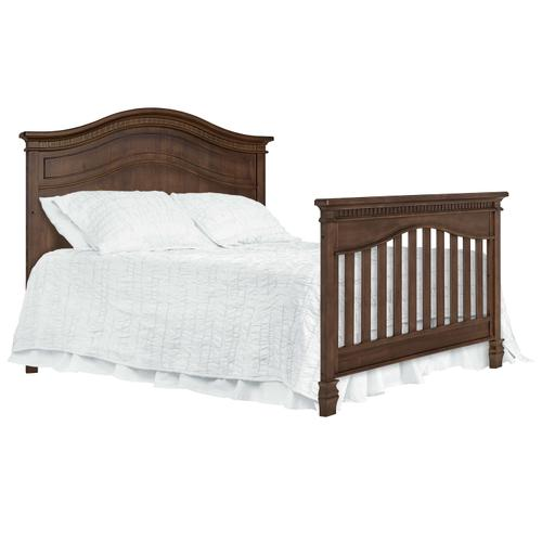 Product Image - Evolur Cheyenne 5 in 1 Full Panel Convertable Crib- Antique Brown