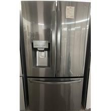 See Details - 22 cu. ft. Smart wi-fi Enabled French Door Counter-Depth Refrigerator