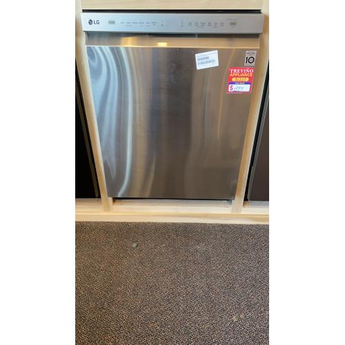 Treviño Appliance - LG Stainless Steel Front Control Dishwasher