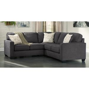Alenya 2-Piece Sectional Charcoal Gray