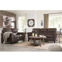 NAVI - CHESTNUT SOFA & LOVE SEAT