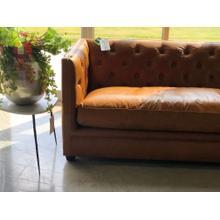 See Details - Dayton Leather Sofa
