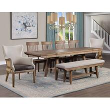 See Details - Riverdale Rustic 8 Piece Dining Group