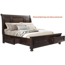 Kingston - King Sleigh/Storage Bed